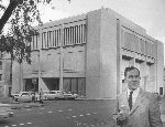 Thomas Vaughan and OHS headquarters, 1966