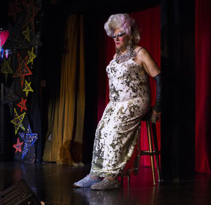 Walter Cole, aka Darcelle XV, performs four nights a week at the downtown club, Darcelle XV Showplace. September, 2019 Beth Nakamura/Oregonian Staff