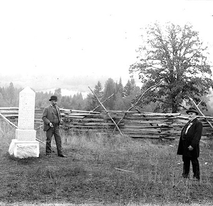 The monument at Champoeg to Oregon's first territorial government. Albert Henry Barnes - Albert Henry Barnes Collection / Https://Commons.Wikimedia.Org/W/Index.Php?Curid=43688766