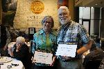 Marvin and Abby Dawson, OHS Outstanding Volunteers for 2016