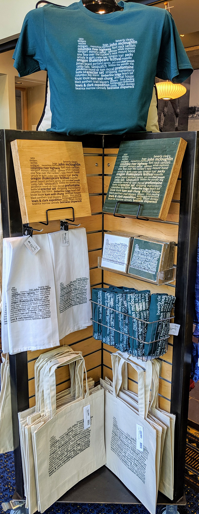 Oregon Encyclopedia Custom Word Art product line at the Oregon Historical Society Museum Store.