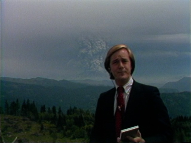 Still from KATU news footage, May 18, 1980. OHS Research Library, MI 04874