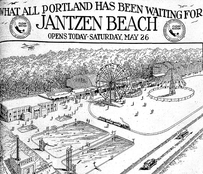 "Morning Oregonian, ""What All Portland Has Been Waiting For,"" May 26, 1928, page 5."