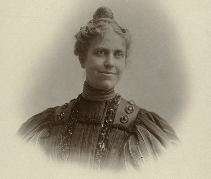 May Shogren, ca. 1887, OHS Research Library, OrHi 103650