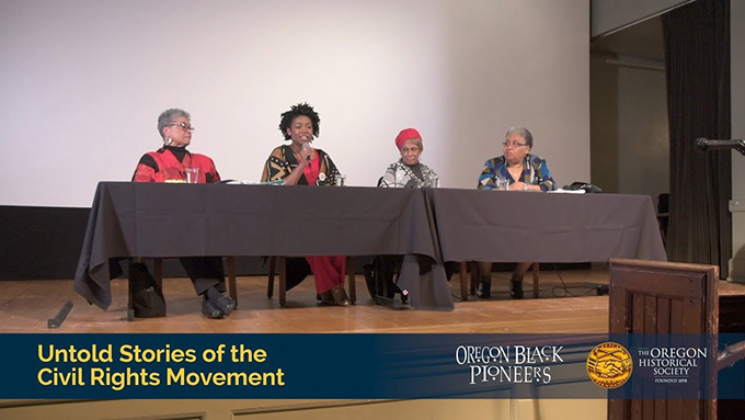 """Untold Stories of the Civil Rights Movement"" panel discussion, March 26, 2018, McMenamins Kennedy School."