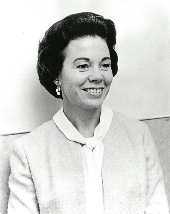 Betty Roberts in 1964, OHS Research Library, CN 015290