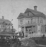 Residence at 2030 N Williams, in Portland's Ablina area, 1889. Courtesy Dorothy Thompson Smith