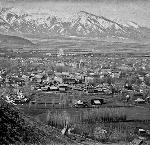 Panorama of Baker City, c.1900. Courtesy Baker County Library District's Historic Photo Collection