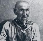 Tecumtum was also called Chief John, as he was identified in this photograph, likely from a newspaper story. OrHi4355