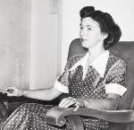 Beverly Cleary in 1954. CN 001274