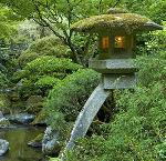 Lantern, Portland Japanese Garden. Photo David M. Cobb, courtesy Portland Japanese Garden