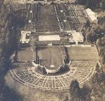 Athletic fields on the original estate of M. Lloyd Frank,