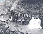 Faraday Diversion Dam, 1958. OHS Research Library, Portland General Electric Collection