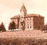 Benton Hall, 1889. Oreg. State Univ. Archives, Harriet's Collec., HC0038