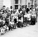 Vanport City, daily vacation Bible School, 8/21/1943. OrHi 78867