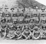 The Portland Bunch, Camp Lewis, August 23, 1918. OrHi 38812