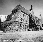 Timberline Lodge, Mt. Hood. OHS Research Library, ba011745