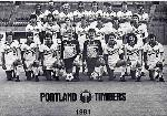 1981 Timbers team portrait. 160