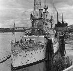 U.S.S. Oregon in Portland. OHS Research Library, OrHi12105