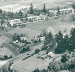 Ariel view of Reed College, 1940 Courtesy City of Portland, a2004-002-879