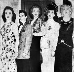 Cross-dressing Performers at Music Hall, Oregon Journal newspaper, 1950 bb003157, OrHi 90578