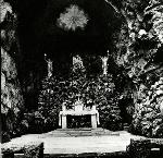 Vigil lights at The Grotto, 1939. 006042
