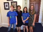 National History Day, with Representative Suzanne Bonamici, June 15, 2016