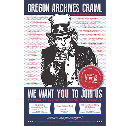 Oregon Archives Crawl