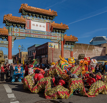 lunar new year dragon dance and parade - Chinese New Year Dragon Dance