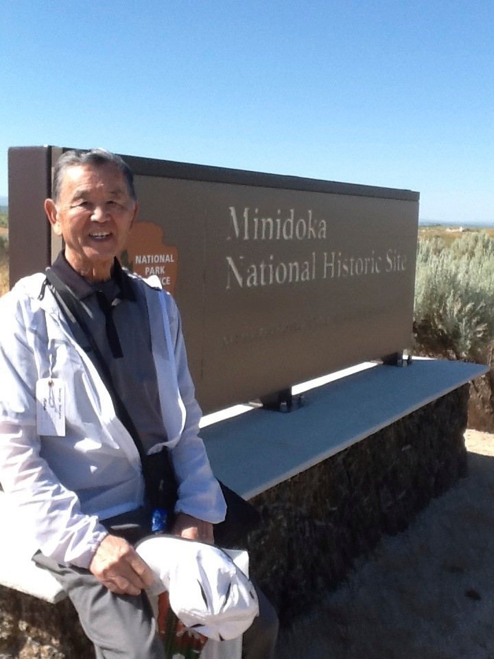 George Nakata at Minidoka Pilgrimage