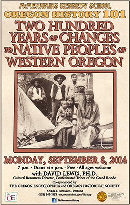 Two Hundred Years of Changes to Native Peoples of Western Oregon