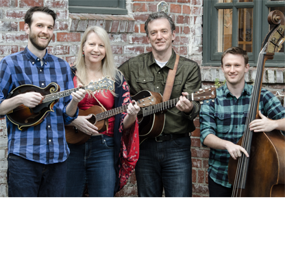 Official band photo - left to right: Martin Stevens, Kristen Grainger, Dan Wetzel and Josh Adkins.