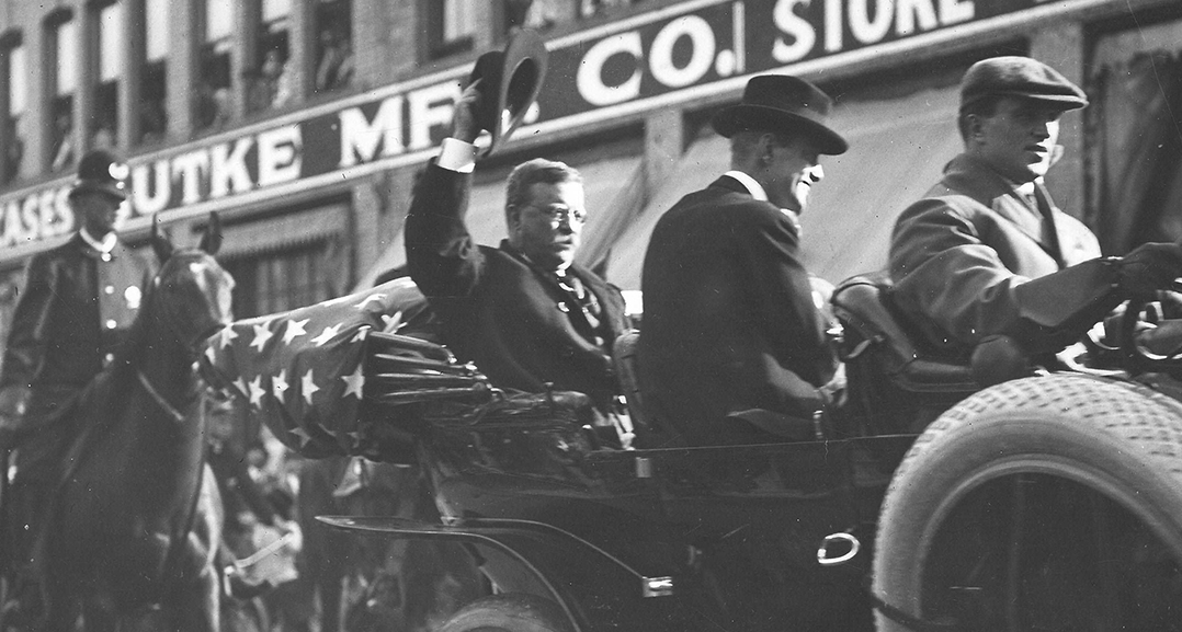Theodore Roosevelt in Portland, 1912