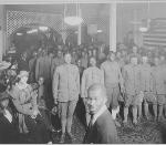 African American soldiers, Camp Custer, Battle Creek, Michigan. National Archives, NWDNS-165-WW-127(137)