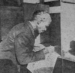Mrs. Amanda Garvin, formerly enslaved, casts her first ballot in Portland, Oregon, pictured in the November 8, 1916 issue of the Oregonian