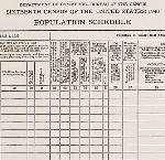 1940 Population Questionnaire via www.census.gov