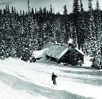 Historic Santiam Pass Ski Lodge. Image courtesy of McMenamins Old St. Francis School.