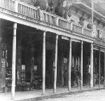 1st Floor Shops, Building Between Alder & Morrison c. 1890