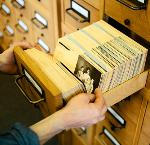 Photo card catalog