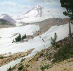 Mt. Hood – North Side, OHS Research Library, Frank Branch Riley Collection