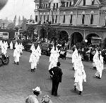 Ku Klux Klan March in Ashland. bb002067 OrHi 49676