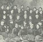 Ladies Sewing Society, 1887, courtesy First Unitarian Church Archives