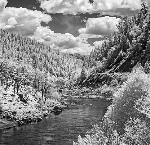 "Rogue River at Walker Bar. Courtesy of Richard Bergeman from ""The Land Remembers: Photographs Inspired by the Rogue River Wars of Southern Oregon, 1851-56."