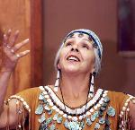 Traditional Kalapuya/Coos Storyteller Esther Stutzman