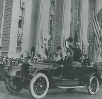 President Wilson on his visit to Portland, September 15, 1919