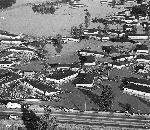 Aerial view of Vanport Floods in Portland, Oregon. OrHi 67592. bb004537