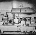 Albany Hotel kitchen, located on Lyon & 2nd in Albany, Oregon bb014086