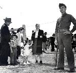 Japanese Americans incarcerated at Heart Mountain, Wyoming. bb002486