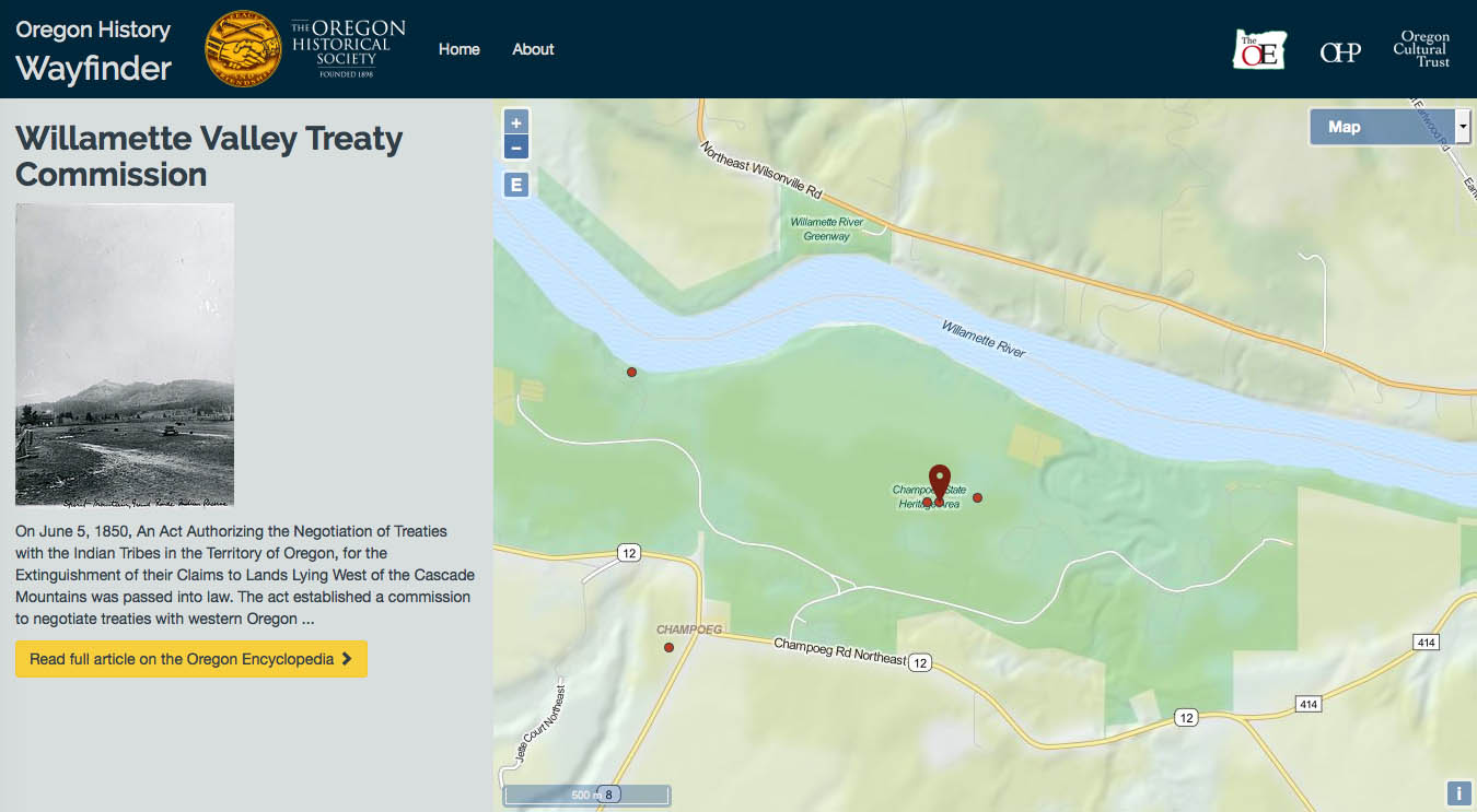 Grand Ronde Oregon Map.The Confederated Tribes Of Grand Ronde