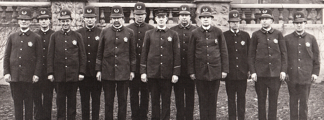 St Johns officers, around 1915